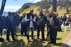 Sir Toby Curtis addresses Te Arawa at Ko Te Hamatiti marae.  Photo/Supplied