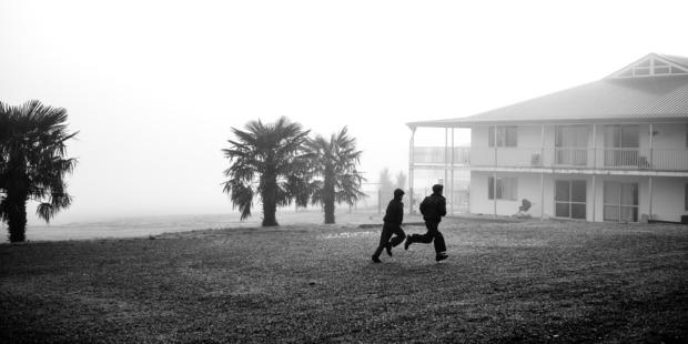 Misty mornings at Gloriavale. Photo / Cameron McLaren