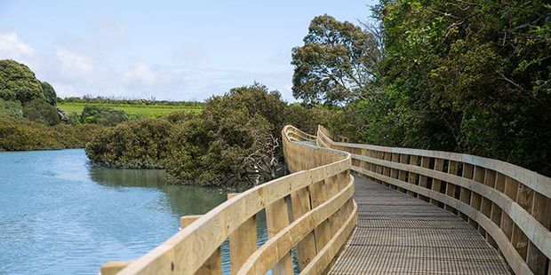 Weona-Westmere Walkway: quite lovely. Photo / Supplied