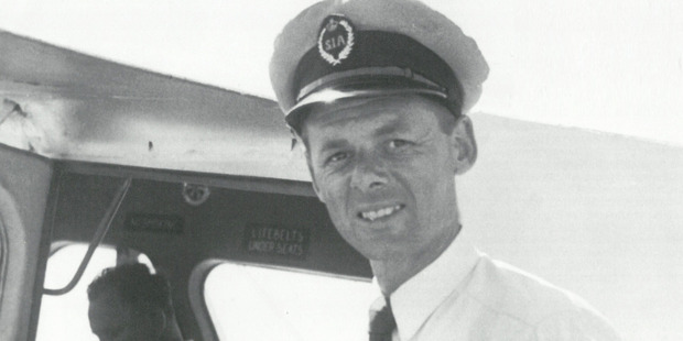 Captain Brian Chadwick was the pilot of the missing De Havilland Dragonfly ZK-AFB. Photo / Lost Without A Trace