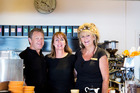Capers owners Gregg and Susan Brown (left) and manager Liz Todd. PHOTO/SUPPLIED