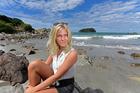 Stephanie Jo Bevington wants to create an ocean pool around Mauao. Photo/George Novak