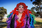 Miss Ribena will host the Family Bar at today's Big Gay Out. Photo / Doug Sherring
