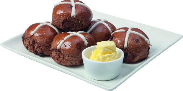 This year, Countdown has launched a new range of hot cross buns. Photo / Supplied