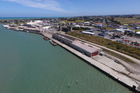 Whanganui Port ... redevelopment options under consideration.