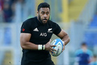 Patrick Tuipulotu of the New Zealand All Blacks during the international rugby match between New Zealand and Italy at Stadio Olimpico on November 12, 2016. Photo / Getty Images.