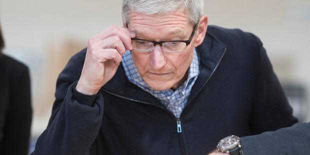 Apple CEO Tim Cook said the crackdown would help providers of quality journalism and help drive out clickbait. Photo / AP