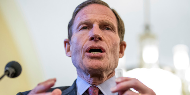 Sen. Richard Blumenthal. Photo / AP