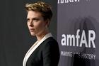 Scarlett Johansson attends amfAR's Fashion Week New York Gala, February 2017. Photo/AP