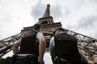 French anti-terrorism forces have arrested four people. Photo / AP