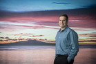 Avi Golan, Air New Zealand's chief digital officer at the airline's headquarters. Photo / Greg Bowker