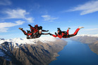 There are plenty of legal ways to get an adrenaline rush - including skydiving. Photo/File