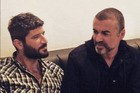 Fadi Fawaz and George Michael in a photo from Fadi's Instagram. Photo / Supplied via Instagram