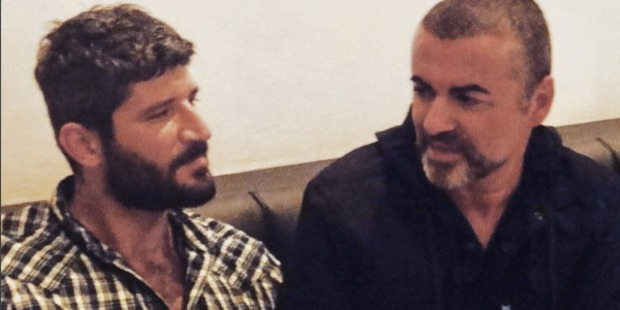 Loading Fadi Fawaz and George Michael in a photo from Fadi's Instagram. Photo / Supplied via Instagram