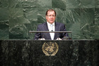 Foreign Minister Murray McCully at the United National Security Council. Photo / United Nations