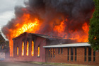 Police are investigating the fire which destroyed the St John Presbyterian Church in Rotorua last night.