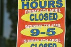 Rotorua could be open for business this Easter Sunday, finally. PHOTO/FILE