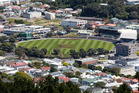 Traffic around the Basin Reserve in Wellington can become badly congested. Photo/file