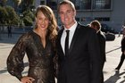 Olympian Lisa Carrington and partner Michael Buck arrive at the 54th Halberg Awards at Vector Arena, Auckland. Photo/file