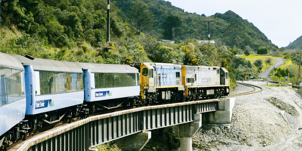 KiwiRail has confirmed that the only railway line to the West Coast will remain closed till at least  April 3 after several  bridges were badly damaged in a scrub fire at the weekend. Photo / File