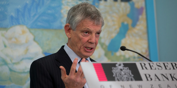 Loading Reserve Bank Governor Graeme Wheeler announces the official cash rate before delivering a Monetary Policy Statement today. Photo / Mark Mitchell