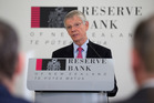 Reserve Bank Governor Graeme Wheeler after announcing the Official Cash Rate of 2 per cent. Photo / Mark Mitchell