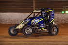 Peter Hunnibell won the New Zealand Midget Championship at Western Springs Speedway last weekend. Photo / Supplied: Taylor Mosen