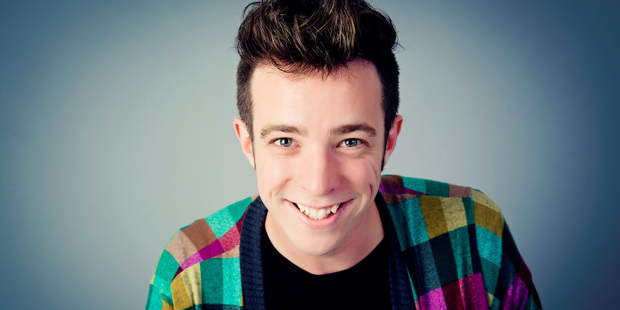 """Eli Matthewson: """"When I'm doing stand-up, I'm always conscious of, if I'm doing 15 minutes, how much of that I can talk about being gay without putting audience members off."""" Photo/Supplied"""