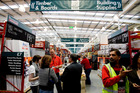 The Commerce Commission has laid 45 charges against Bunnings, saying  in  court documents a number of its slogans were liable to mislead the public. Photo / File