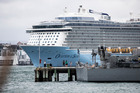 Ovation of the Seas is the largest cruise ship to visit New Zealand - so far. Photo / Michael Craig