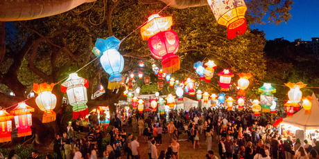 The Lantern Festival is a favourite on the Auckland event calendar.