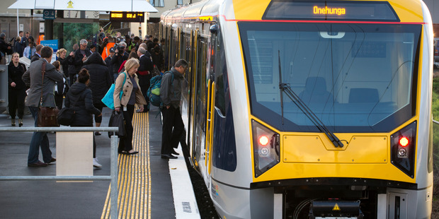 Onehunga line has been suspended. Photo / File