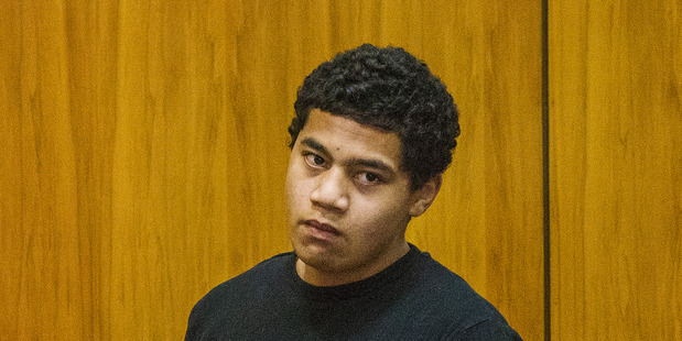 Bronson Kelekolio, serving a life sentence for the 2012 murder and sexual violation of Sina Nerisa Solomona, has now admitted going on a prison rampage. Photo: Fairfax pool