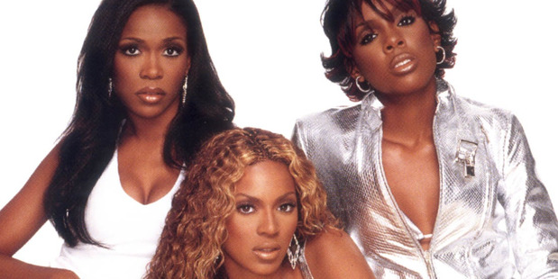 Beyonce and Kelly Rowland, right, on the cover of a Destiny's Child album. Photo/Supplied
