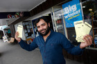 Himanshu Kamal, manager of Tony's Stationery and Lotto in Maungaturoto, which has sold its second Lotto First Division winner in three months.