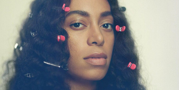 Solange Knowles as she appears on the cover of her latest album. Photo/Supplied