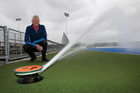 PREPARED: Hawke's Bay Regional Sports Park CEO Jock Mackintosh said playing surfaces were irrigated before games, and that extra drainage helped offset the effects of heavy rain. PHOTO/DUNCAN BROWN