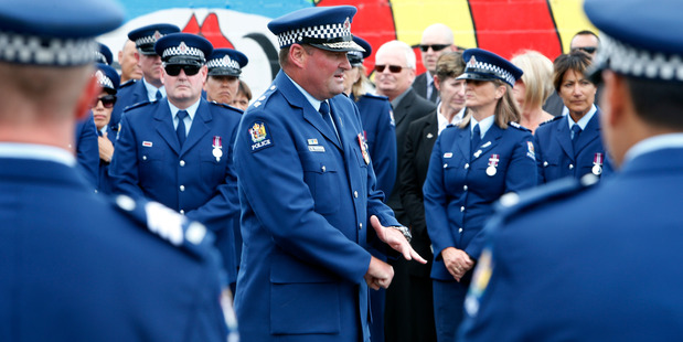 Northland police Superintendent Russell Le Prou said Mr Kuraia was an inspiration and a selfless person, descriptions that was repeated throughout the the service. PHOTO/ Michael Cunningham