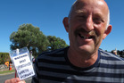 Opportunities Party founder Gareth Morgan was amused by a marae pass describing him as an opportunist. He wasn't sure if it was a dig or just a short way of writing Opportunities Party leader.