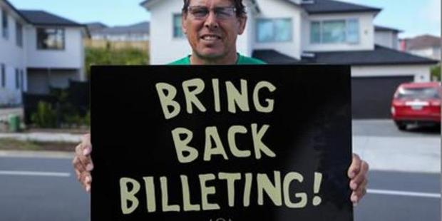 Loading All Black legend Wayne 'Buck' Shelford is part of the Bring Back Billeting campaign with the International Rugby Club. Photo/Supplied