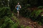 ROTORUA, NEW ZEALAND - FEBRUARY 06: Michael Wardian of USA in action during the Tarawera Ultramarathon on February 6, 2016 in Rotorua, New Zealand. (Photo by Hagen Hopkins/Getty Images) *** Local Ca