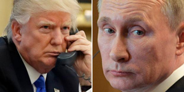 Loading US President Donald Trump and Russian President Vladimir Putin. Photos / AP