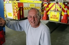 Charlie Smellie was a stalwart of the Kerikeri Fire Brigade from the mid-1950s to late 80s. PHOTO/JOHN STONE