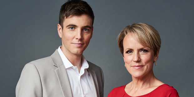 Loading Breakfast presenters Jack Tame and Hilary Barry are taking a casual approach to morning news this year.