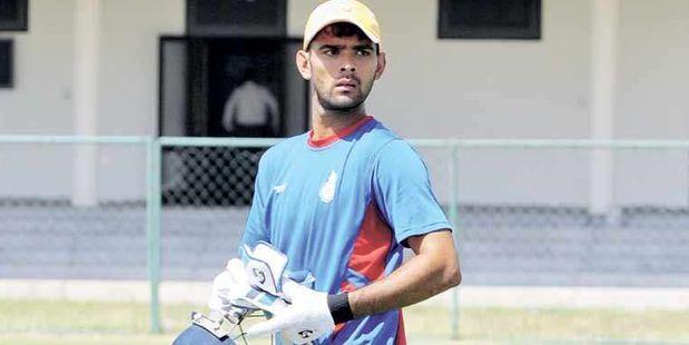 Delhi wicketkeeper/batsman Mohit Ahlawat who reportedly scored 300 runs in a T20 innings.