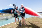 Tauranga's Callum Gilbert (left) and Finn Butcher (Alexandra) will help lead the NZ charge on this year's world cup circuit. Phot/Jamie Troughton/Dscribe Media Services