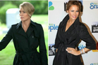 Life imitating art? House of Cards' Claire Underwood (left) and Melania Trump. Photo / Twitter
