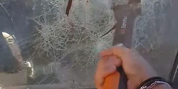 32-year-old Rinat Iskakov filmed himself smashing the custom Range Rover. Photo / Instagram
