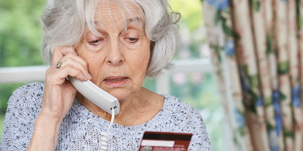 Do not give financial details over the phone, warn police. Photo / 123rf