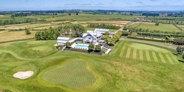 Loading Te Hihi, the farm and homestead at 435 Batty Rd, Karaka, is being marketed by Sotheby's International Realty.